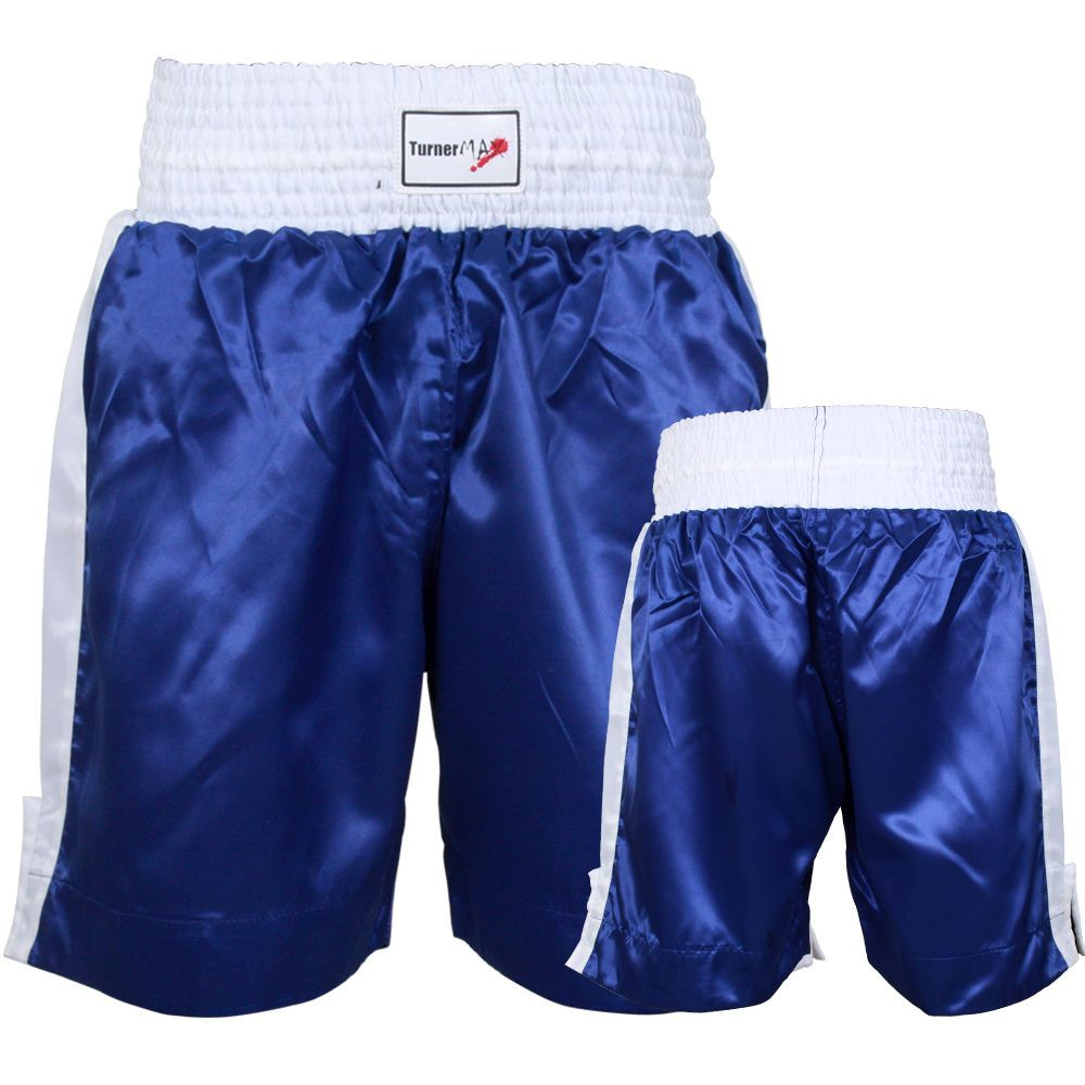 TurnerMAX Boxing Shorts Muay Thai Kick Boxing Martial Arts Training Trunks
