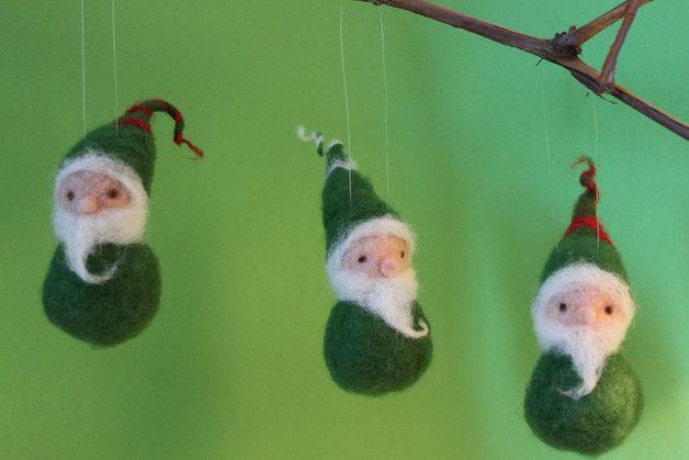 Weihnachtsbasteln Kita.Weinhachtswichtel Set Filzfigur Filz Santa Tomtar Tomte