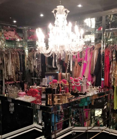 Glamour Queen Home Room Design Walk In Closet Inspiration Beauty Room