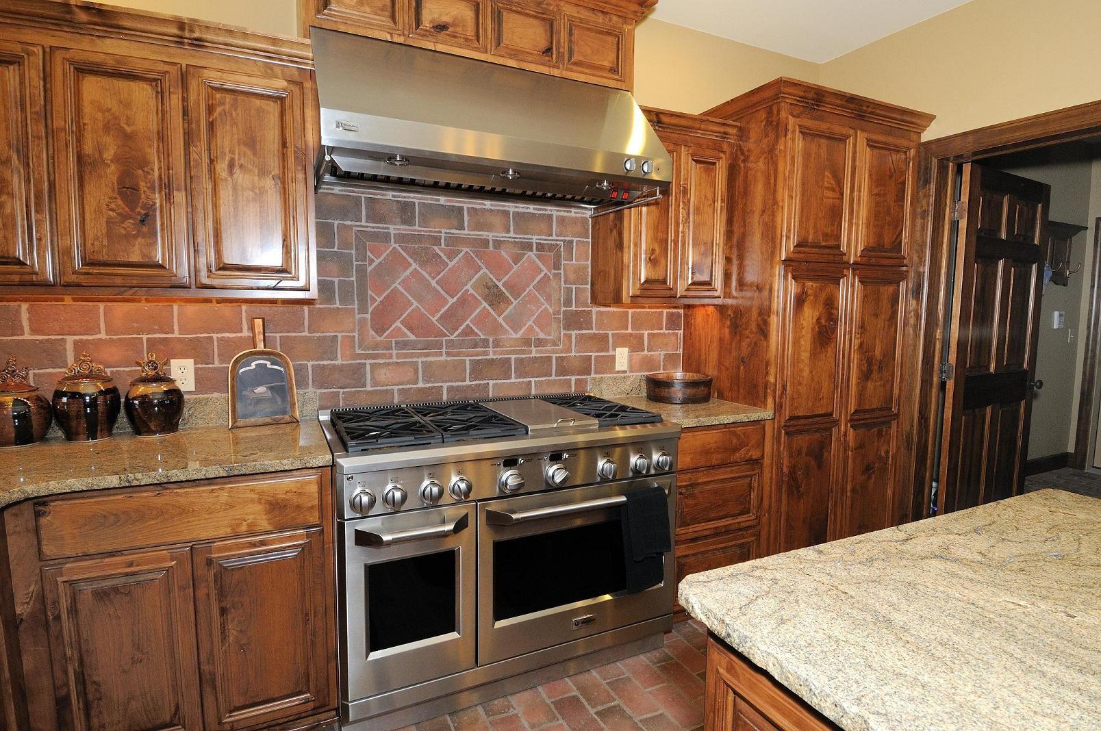 - Brick Kitchen Backsplash The King Street Tiles Also Cover The