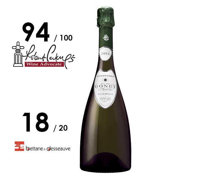Champagne Philippe Gonet – Belemnita 2004 Edition Confidentielle - #Champagne