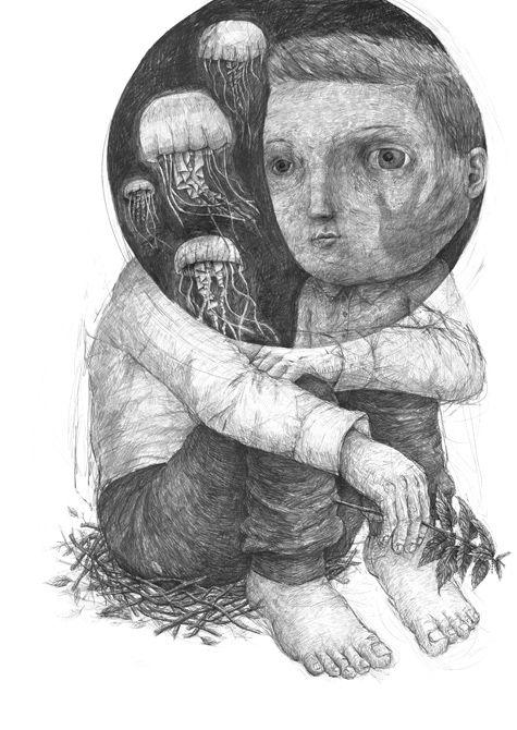 Drawings 2015 Part 1 by Stefan Zsaitsits