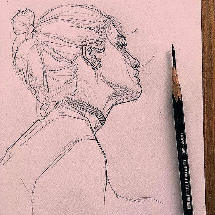 aprender desenhar dessa forma Mesmo que voc Quer aprender desenhar dessa forma Mesmo que voc   Nikki  on Instagram Experimental thing I never draw eyes close up or Kpop 3...