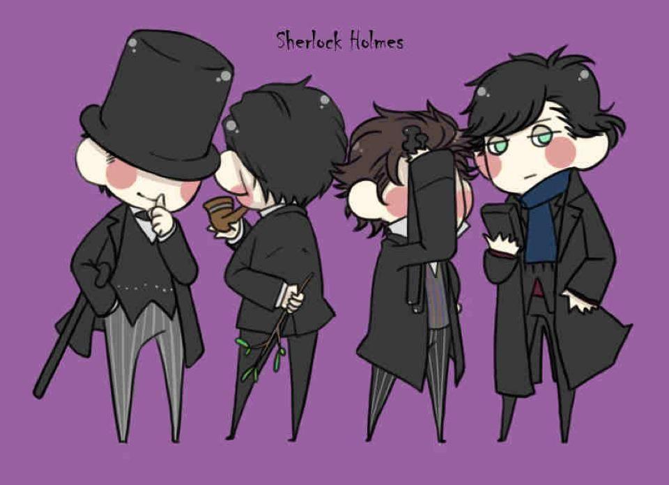 Generations of Sherlock