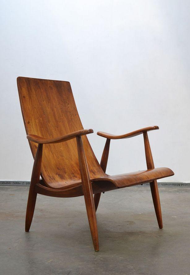Scandinavian Interior Design: Teak Lounge Chair, 1950s. | Furniture |  Pinterest .