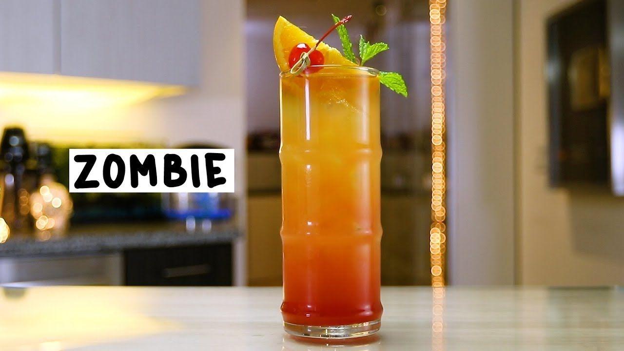 Zombie Tipsy Bartender Recipe Dark Rum Drinks Recipes Tipsy Bartender Cocktail Liqueur