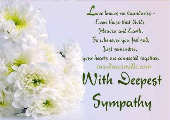 What to write on funeral flowers card for auntie | Good Morning ...