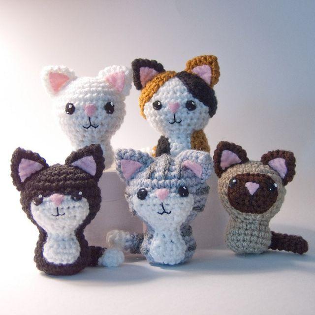 Вязание для кошек с крючком с описанием 44
