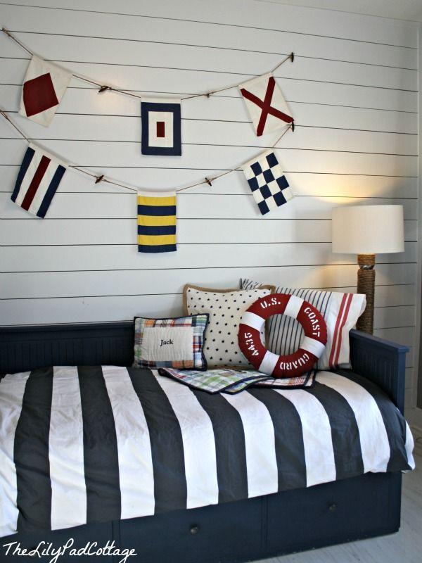 Nautical Big Boy Room Reveal Boys Nautical Bedroom Boy Room Kids Bedroom
