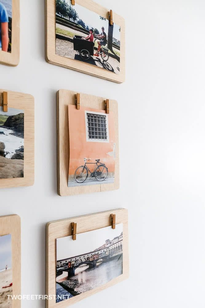 Photo of DIY Clipboard Frames   Clothespin Picture Frames