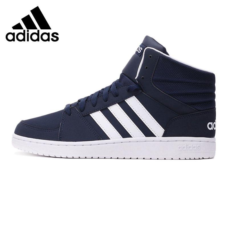 Label Vs Original Neo Adidas Arrival New Hoops Mid 2017 Men's qUwUXYSZnO
