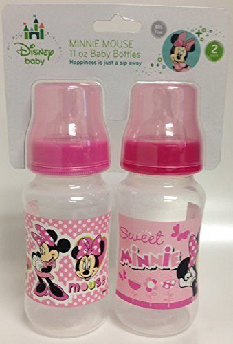 Minnie Mouse 2pack 11oz Baby Bottles You Can Get Additional Details At The Image Link Note It Is Affiliate Link To Baby Bottles Baby Doll Accessories Bottle