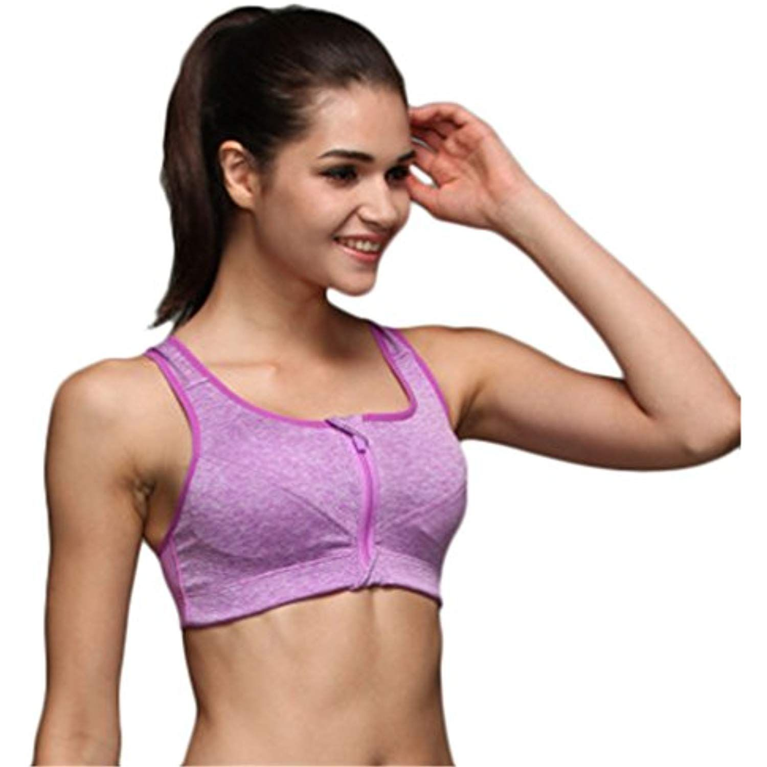0ae48707f6406 DOLINXH Women Sports Bra Shockproof Wirefree Tops Gym Fitness Bra Running  -- More info could be found at the image url. (This is an affiliate link)    ...