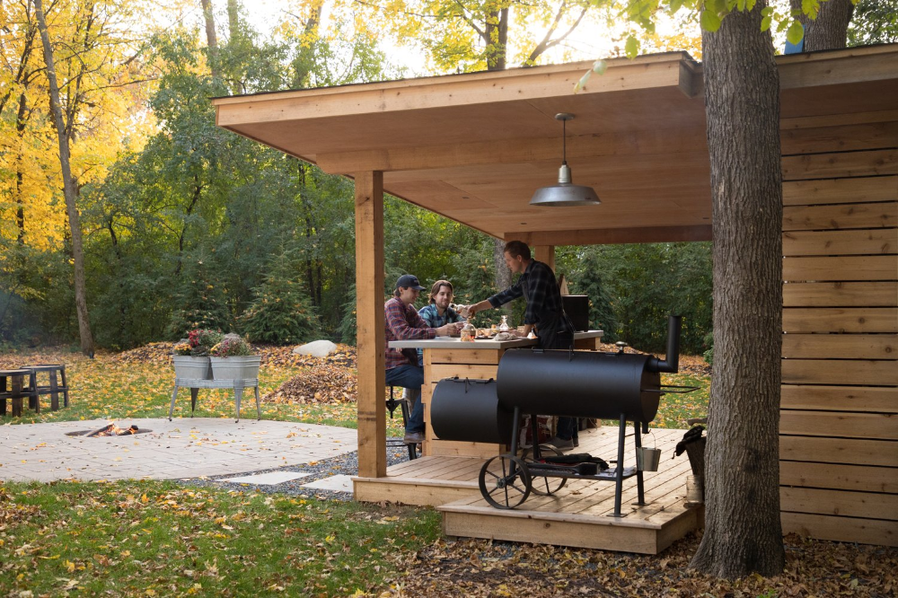 Smoke Shack — Outdoor Excapes in 2020 | Outdoor grill ...