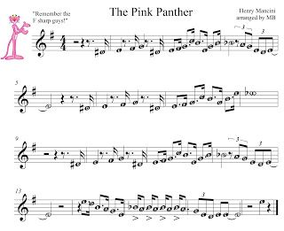 This Song Titled Pink Panther Theme By Mancini Was Exported From