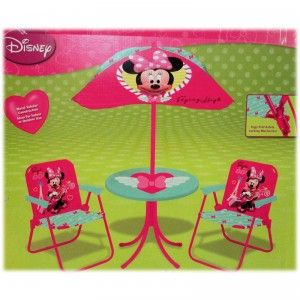 Patio Set From Kids Only Minnie Mouse