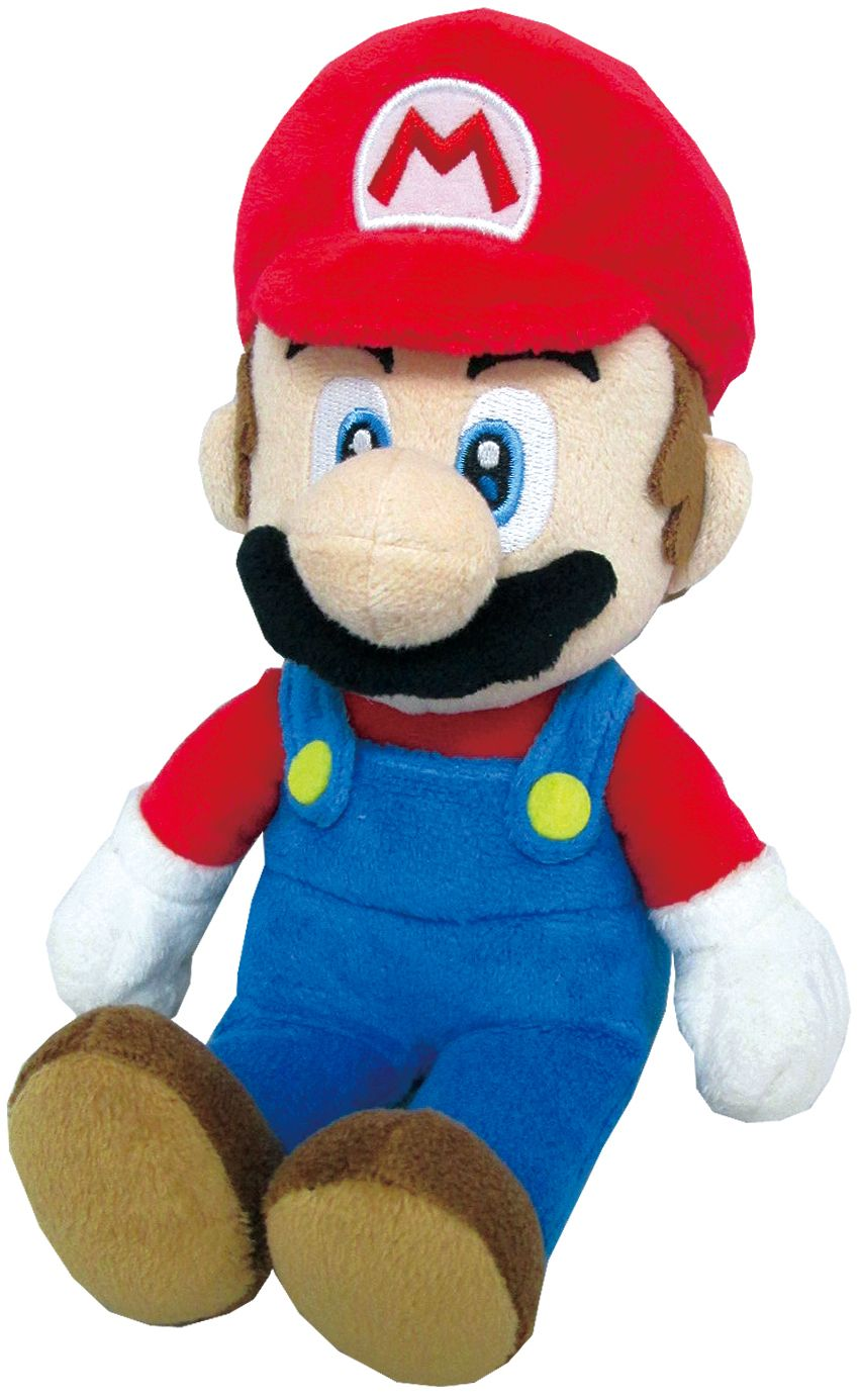 Because it's all about me! Mario plush