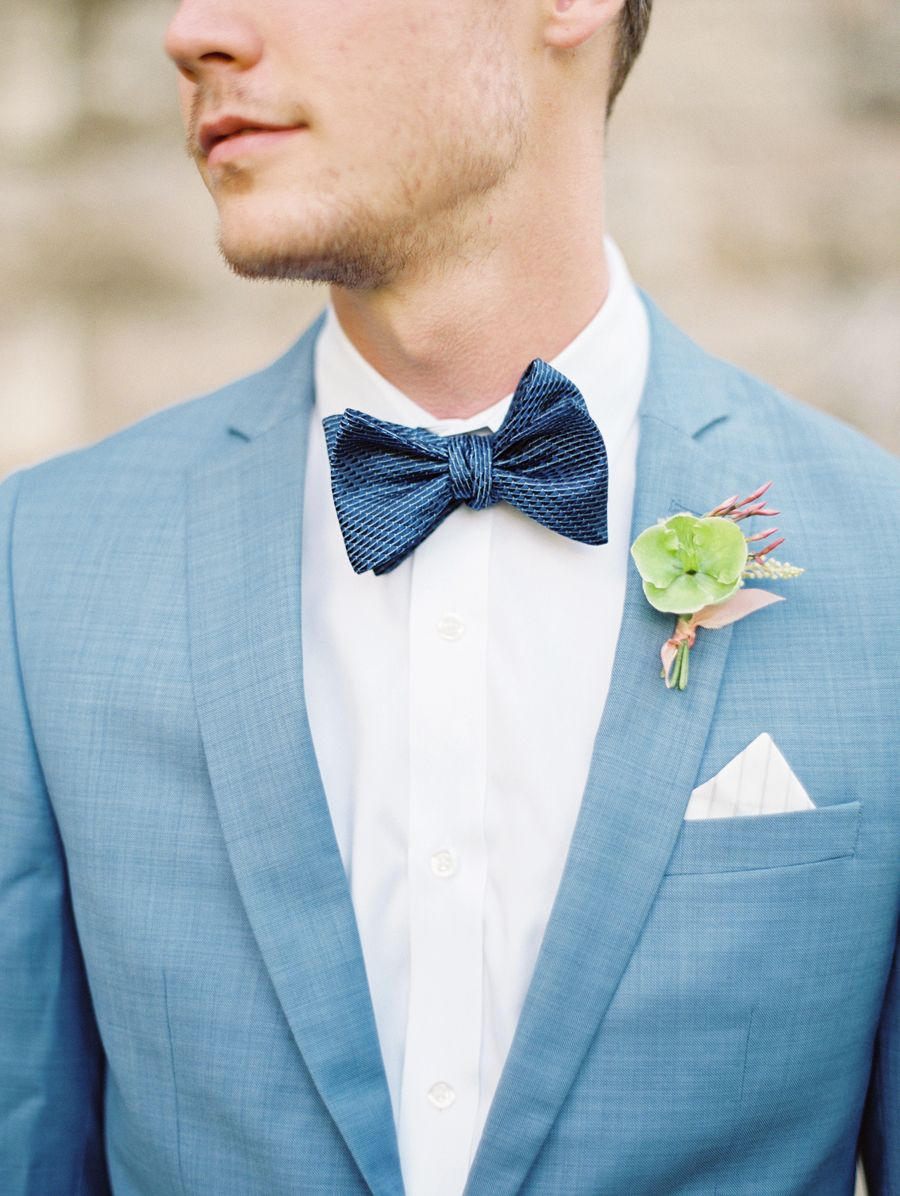 Style Alert: We\'re Bringing Bow Ties Back | Wedding suits, Ethereal ...