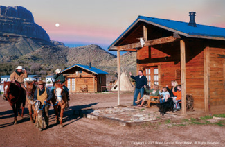 Step Into The Old West At The Grand Canyon Ranch With Images Trip To Grand Canyon Canyon Ranch Resort Grand Canyon