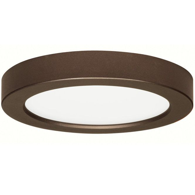 7 Led Simple Round Low Profile Ceiling Light Ceiling Lights Ceiling Light Shades Recessed Lighting