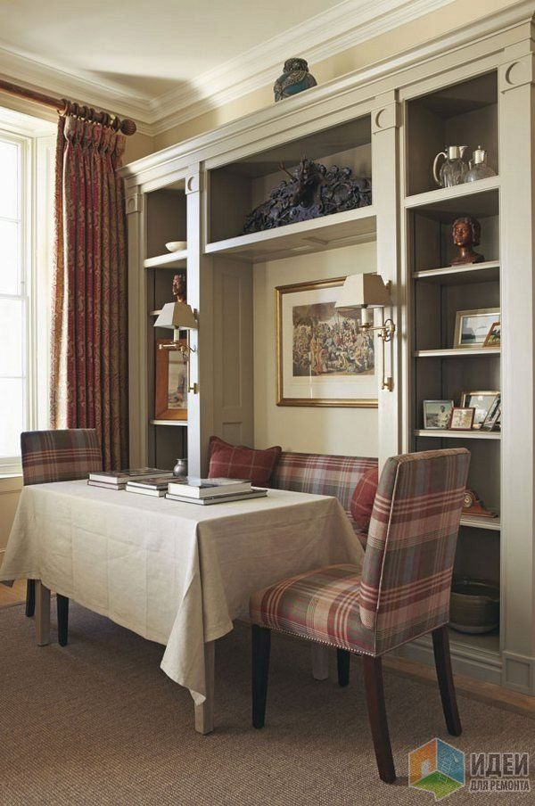 Английский интерьер, гостиная в английском стиле ...