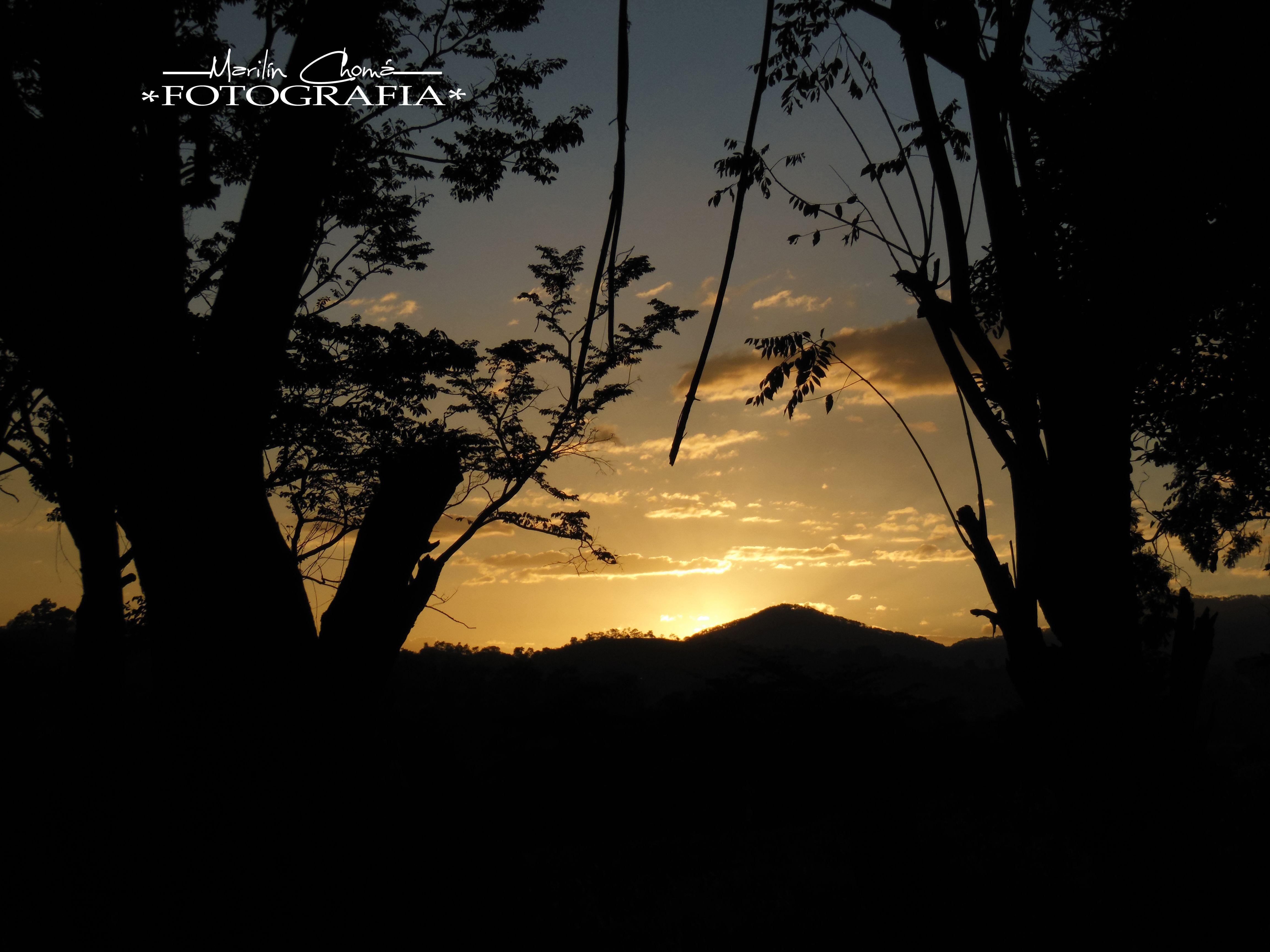 Una bella tarde del Bello Oriente de Guatemala