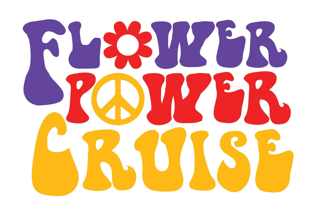 The Best Flower Power Cruise 2018 Lineup And Description In 2020 Flower Power Power Flower Clipart