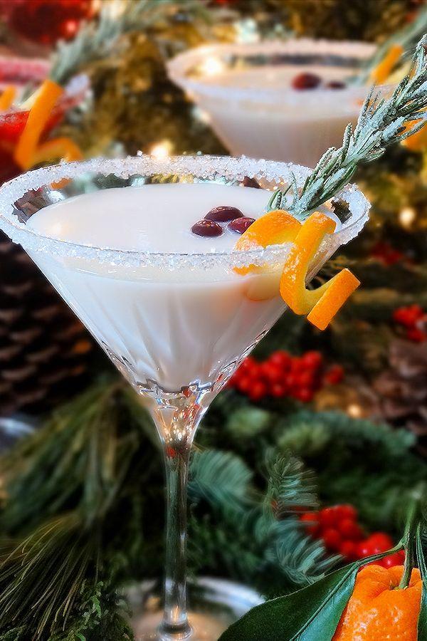 Sleigh Ride White Christmas Cocktail Recipe Christmas cocktails