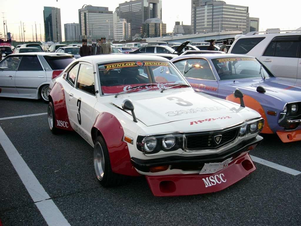 Original bosozuku car rx3