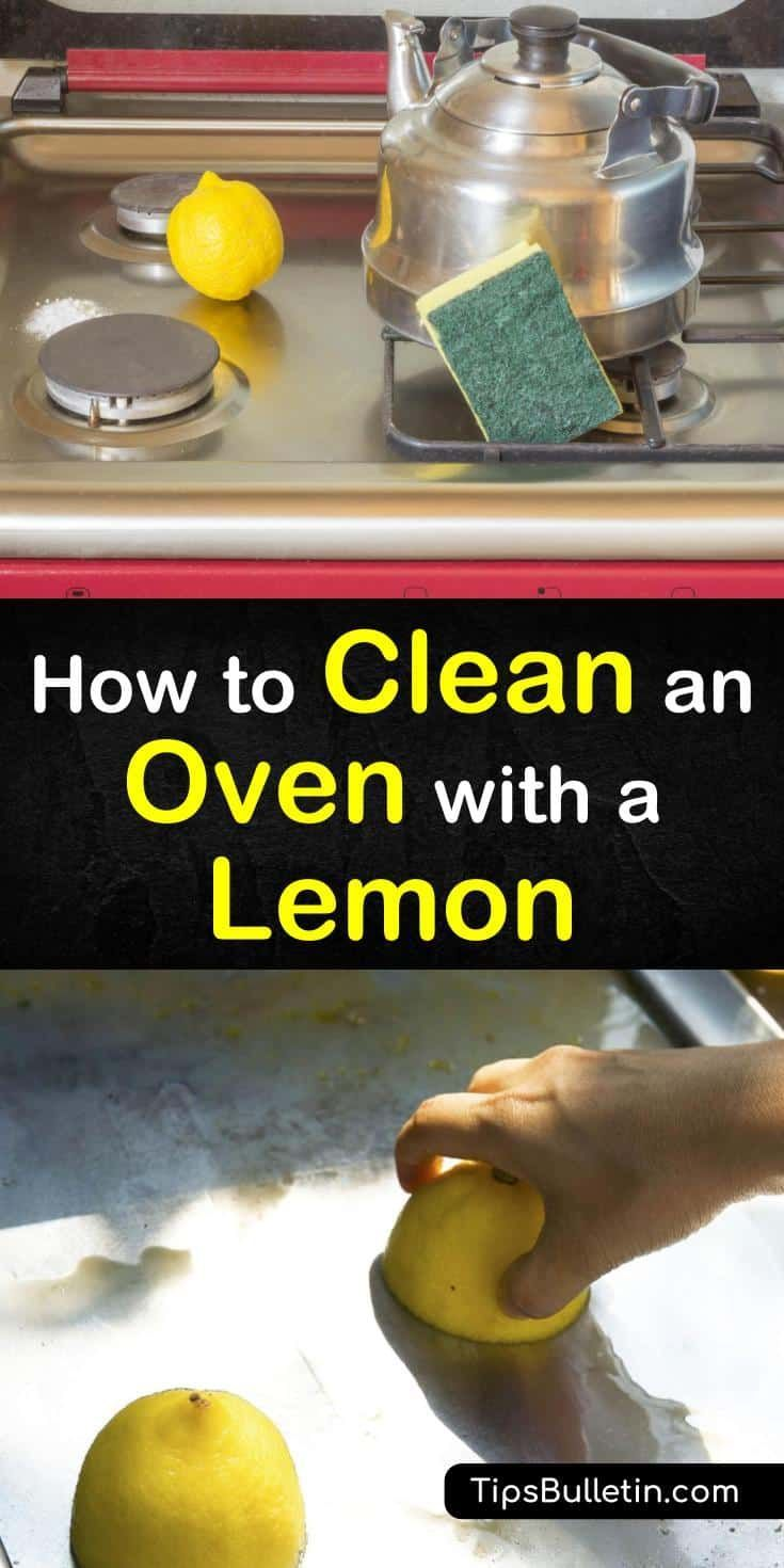 How to Clean an Oven with a Lemon