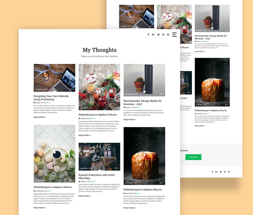 Cool Clean Masonry Blog Template Free Psd Download Clean Masonry Blog Template Free Psd Here S A Neat Landing Blog Templates Free Blog Template Template Free