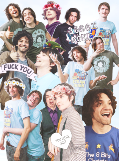 the more I listen to and watch danny from game grumps the more I see similarities between me and him