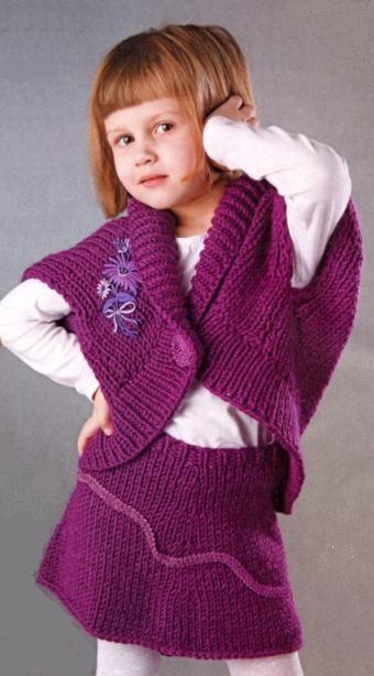 жилетка для девочки спицами Google Zoeken вязание вязать юбка