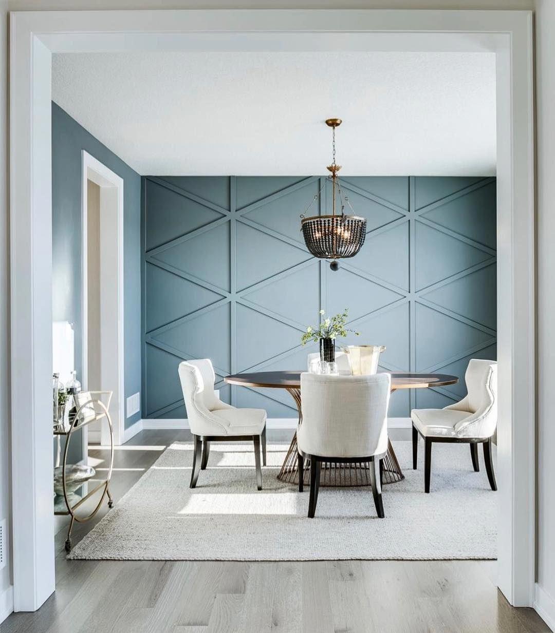 How To Create A Modern Feature Wall Zoe Olivia Diningroomd