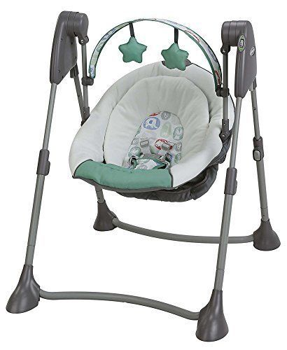 Graco Baby Swing By Me 2 In 1 Portable Swing Cleo Portable Baby Swing Graco Baby Swing Baby Swings