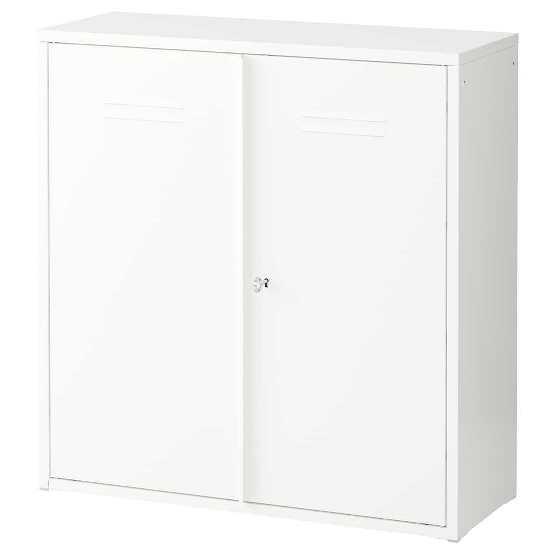 """IVAR Cabinet With Doors - White 31 1/2x32 5/8 """""""