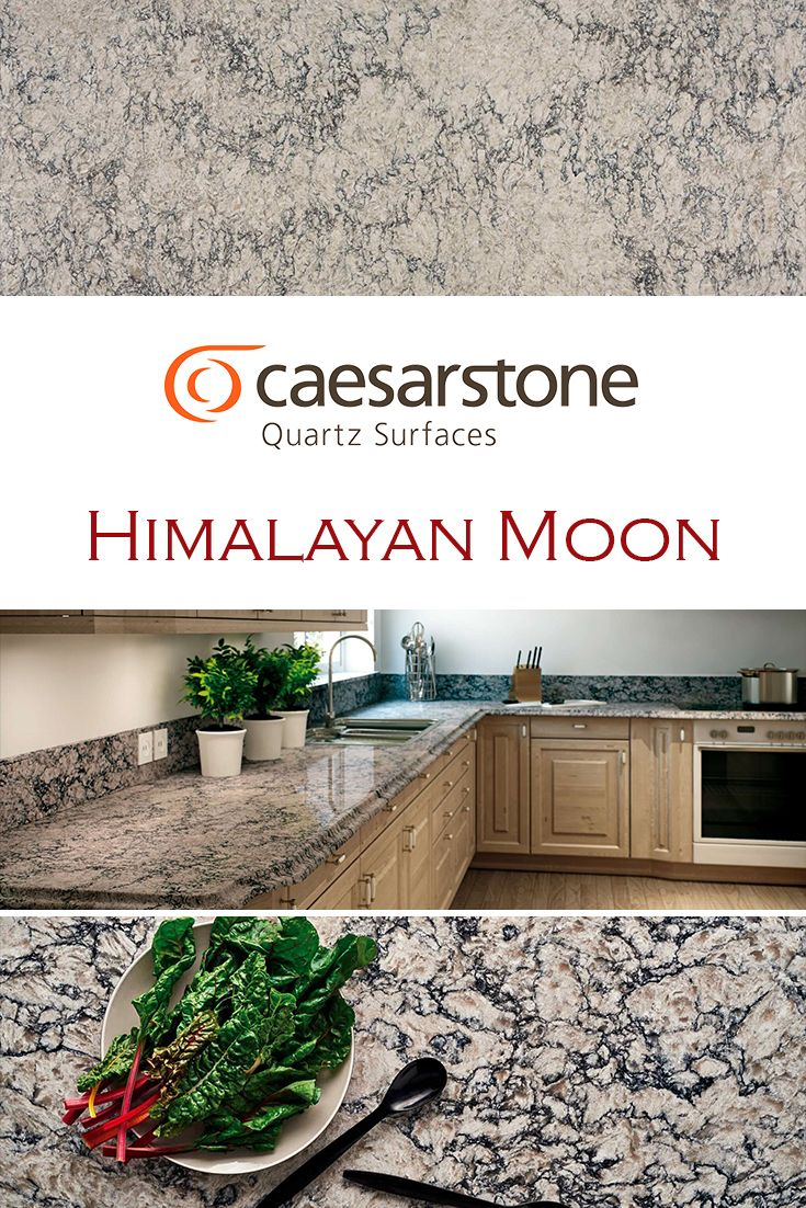 Himalayan Moon By Caesarstone Is Perfect For A Kitchen Quartz Countertop Replacement