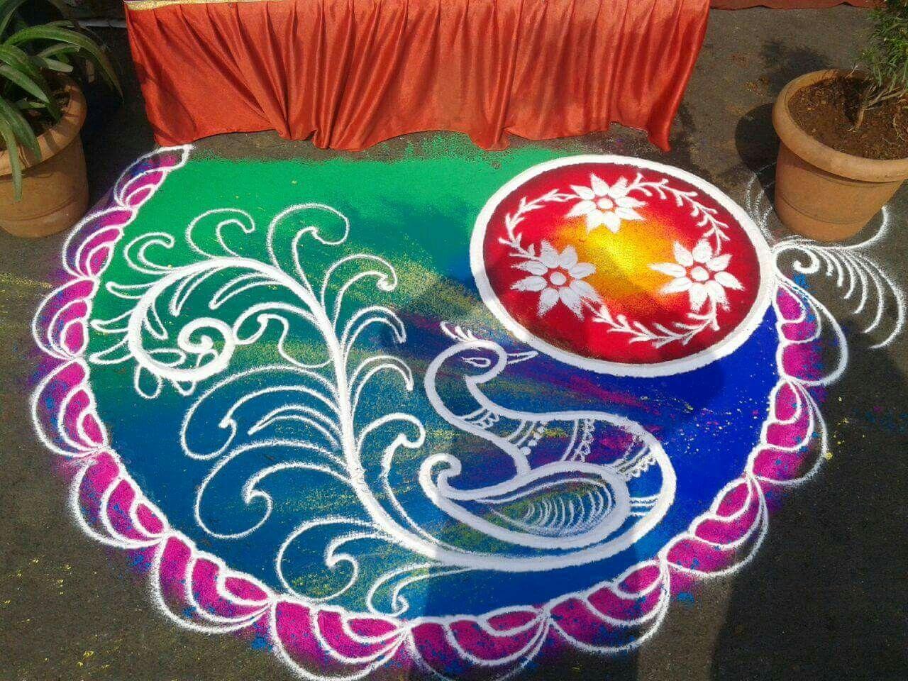 Amazing Rangoli Designs With Theme Go for Rangoli Designs With Theme Go Green  156eri
