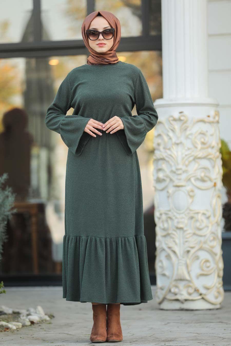 2019 Yeni Sezon Tesettur Giyim Elbise Sal Abiye De Ucuz Fiyat Elbise Giyim Moda Stilleri
