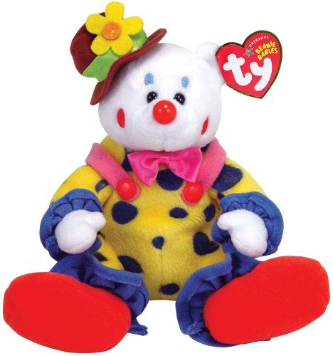 Ty Juggles Clown Bear You Can Get Additional Details At The Image Link Note It Is Affiliate Link To Amazon Clown Baby Beanie Teddy Bear Stuffed Animal