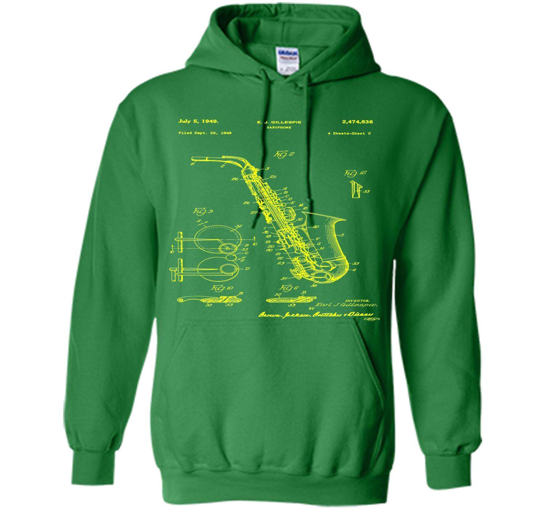 8c78cf9b76380 Saxophone Patent Print T Shirt, Patent Prints, Patent Art, T Shirt ...