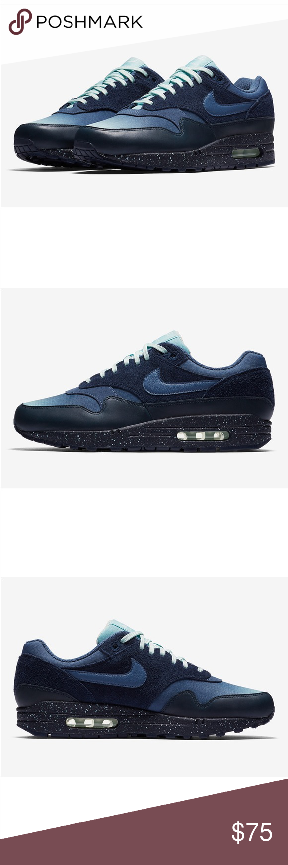 best service cdf37 fd86c Mens Nike Air max 1 premium gradient toe size 9
