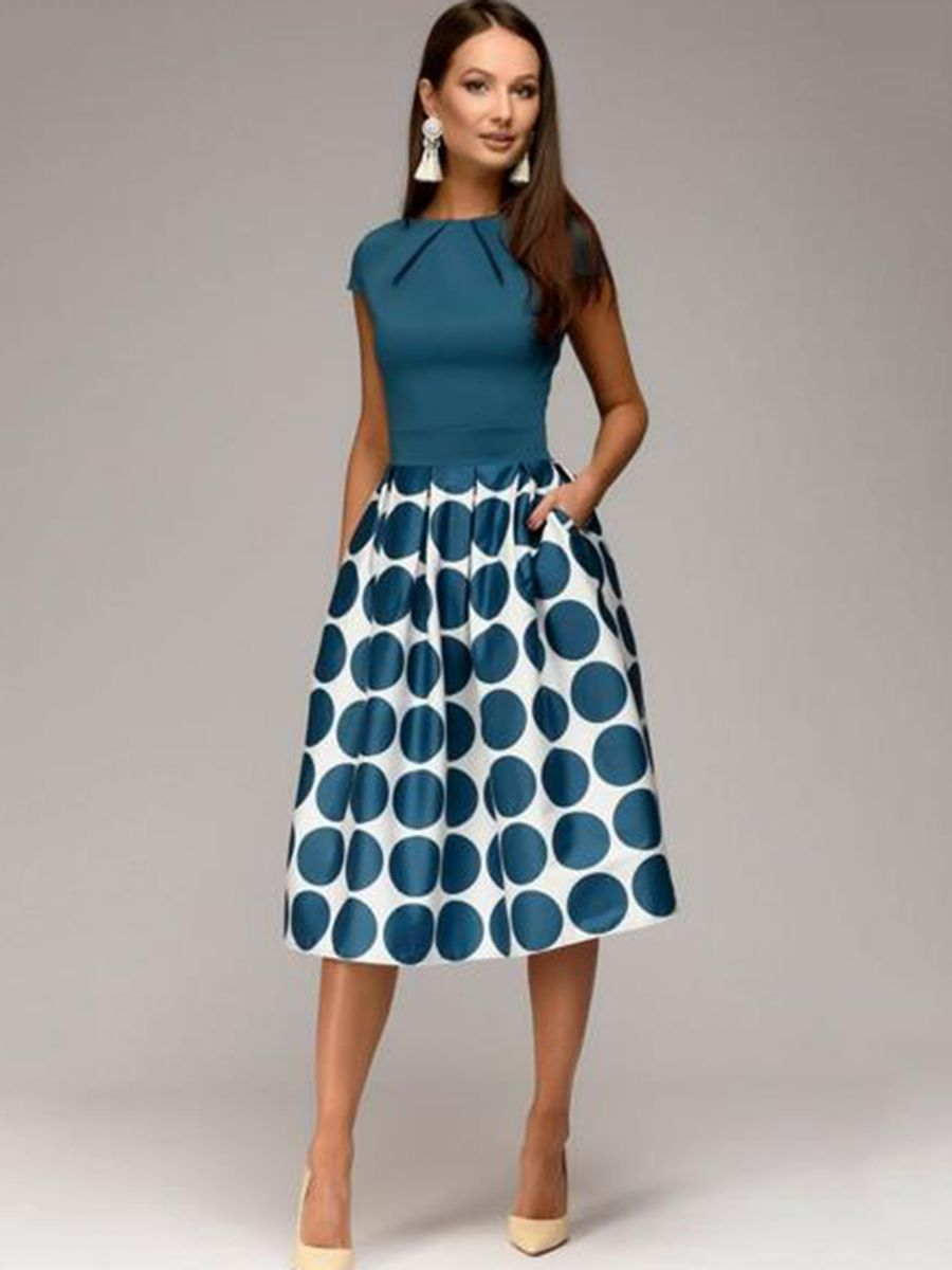 Knee Length Dress Pattern