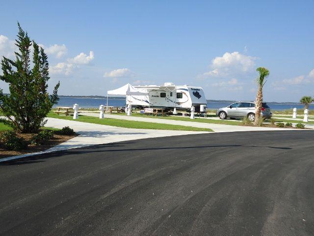 Pensacola Beach Rv Resort Photo Gallery Rv Resorts Waterfront Rv Parks Beach Camping Rv Parks Florida Camping