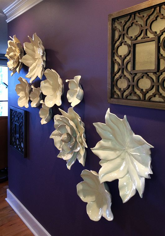 dekoideen wohnzimmer - wände kreativ gestalten - freshouse