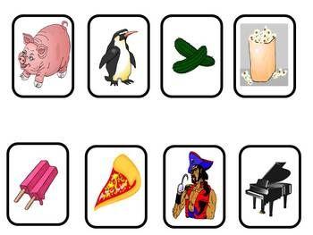 Letter P Beginning Sound Color Pictures Worksheet ...