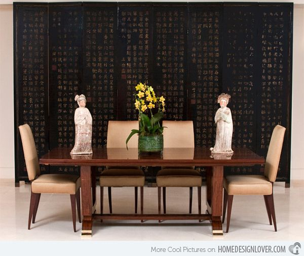 Exceptionnel 15 Asian Inspired Dining Room Ideas | Home Design Lover