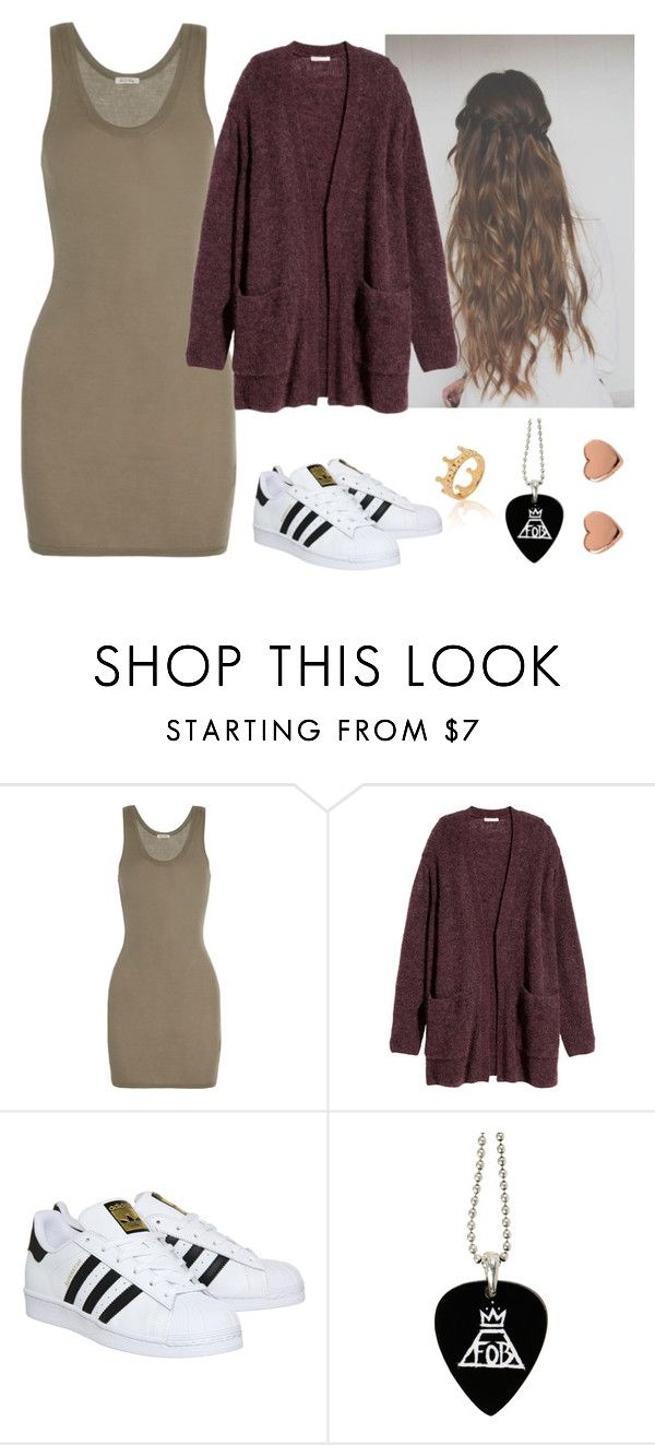 """""""Untitled #191"""" by milena-burton ❤ liked on Polyvore featuring American Vintage, H&M, adidas and Ted Baker"""