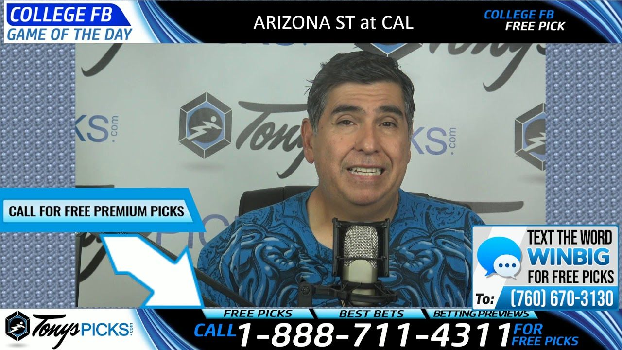 Arizona St vs. California Free NCAA Football Picks and