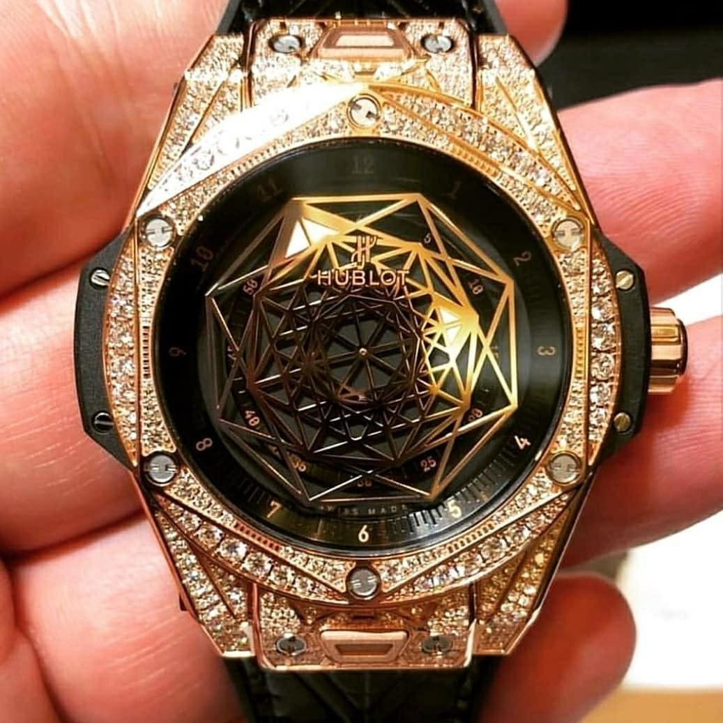 c546fc142b9 Hublot Relógios De Pulso Grandes